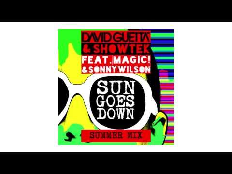 David Guetta & Showtek - Sun Goes Down (Summer Mix - Sneak Peek) Ft Magic! & Sonny Wilson