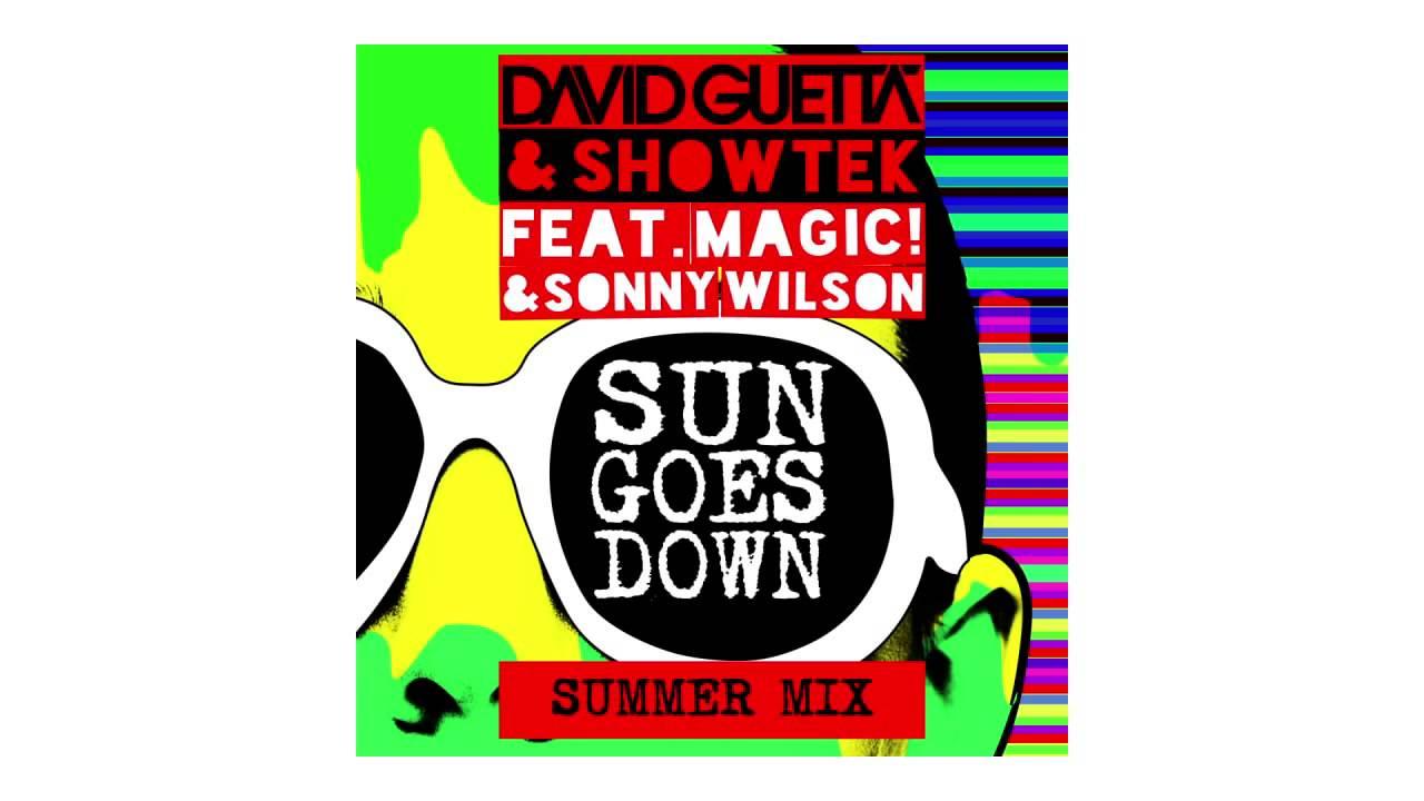 David Guetta & Showtek — Sun Goes Down (Summer mix — sneak peek) ft Magic! & Sonny Wilson