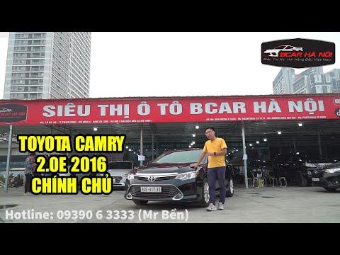 Toyota Camry 2.0E 2016 Tư Nhân Một Chủ, Xe Cho Các Doanh Nhân Nhận Xe Chỉ 288 Triệu | BCAR TV