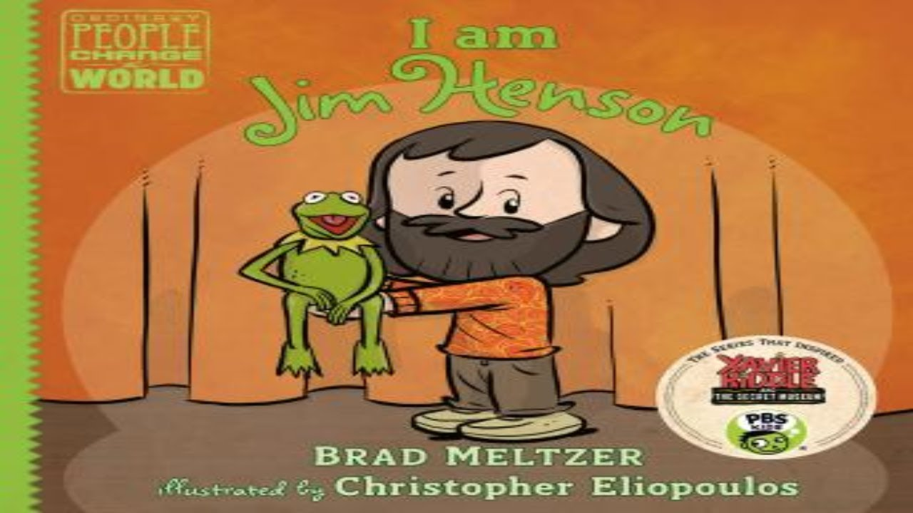 Download I am Jim Henson. Audiobook Sample.  Written by Brad Meltzer. ISBN:9781984883803