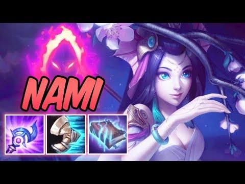 FULL AP NAMI MID DARK HARVEST | Splendid Staff Nami | New 40% CDR Build & Runes | League of Legends