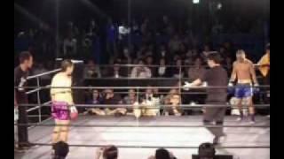 土屋ジョーvs寺尾新(元プロボクシング日本フライ級1位)(異種格闘技戦)