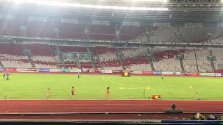 Серебряный финиш Маргариты Мукашевой (Казахстан) бег 800 метров женщины Азиада-2018 в Индонезии