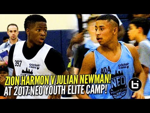 Julian Newman v. Zion Harmon at NEO Elite; Zo Gaffney Drops 41! Day 1 Highlights