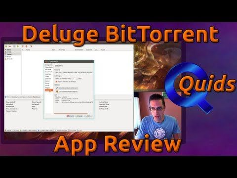 Review of Deluge BitTorrent Client for Linux / Mac / Windows