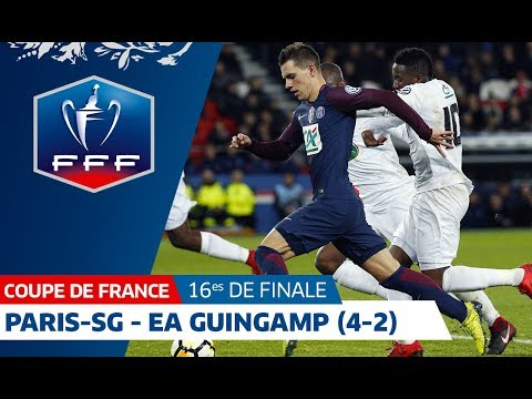 Coupe de France, 16es de finale : Paris-SG-Guingamp (4-2), le résumé