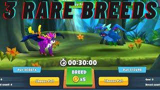 My Defi Pets - 3 Rare Breeds | Happy Forest | Breeding!