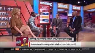 Michelle Beadle Crossed Legs and Thighs (SportsNation)