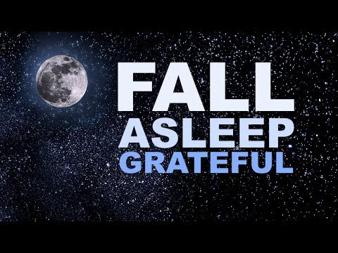 Gratitude Meditation Before Sleep