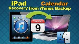 Dr.Fone for iOS 7: How to Recover iPad Lost Data Calendar Due to iOS 7 Upgrade from iTunes Backup