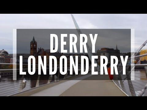 Derry Londonderry-An Amazing View Of The Maiden City-Everyone Should Visit Derry And Walk The Walls.