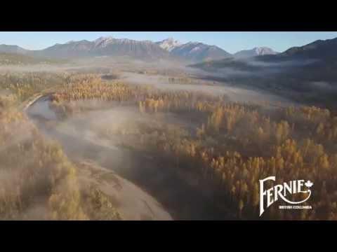 Autumn Colours in Fernie BC | Drone Video of Fernie