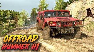 Mesin Jebol!! Offroad Hummer H1 - Spintires Mudrunner