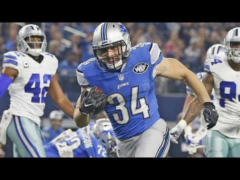Zach Zenner vs Cowboys (NFL MNF Week 16 - 2016) - 92 Yards + 2 TDs! Tough! | NFL Highlights HD