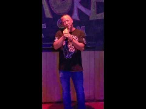 Mark Stickley  Karaoke singing
