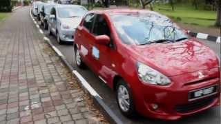 Mitsubishi Mirage ECO Drive Challenge 2013