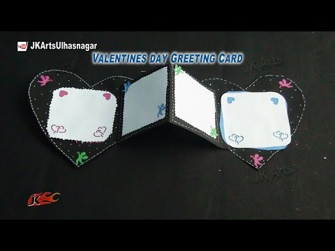 Squash Card | Valentine's day DIY Craft | JK Arts  839