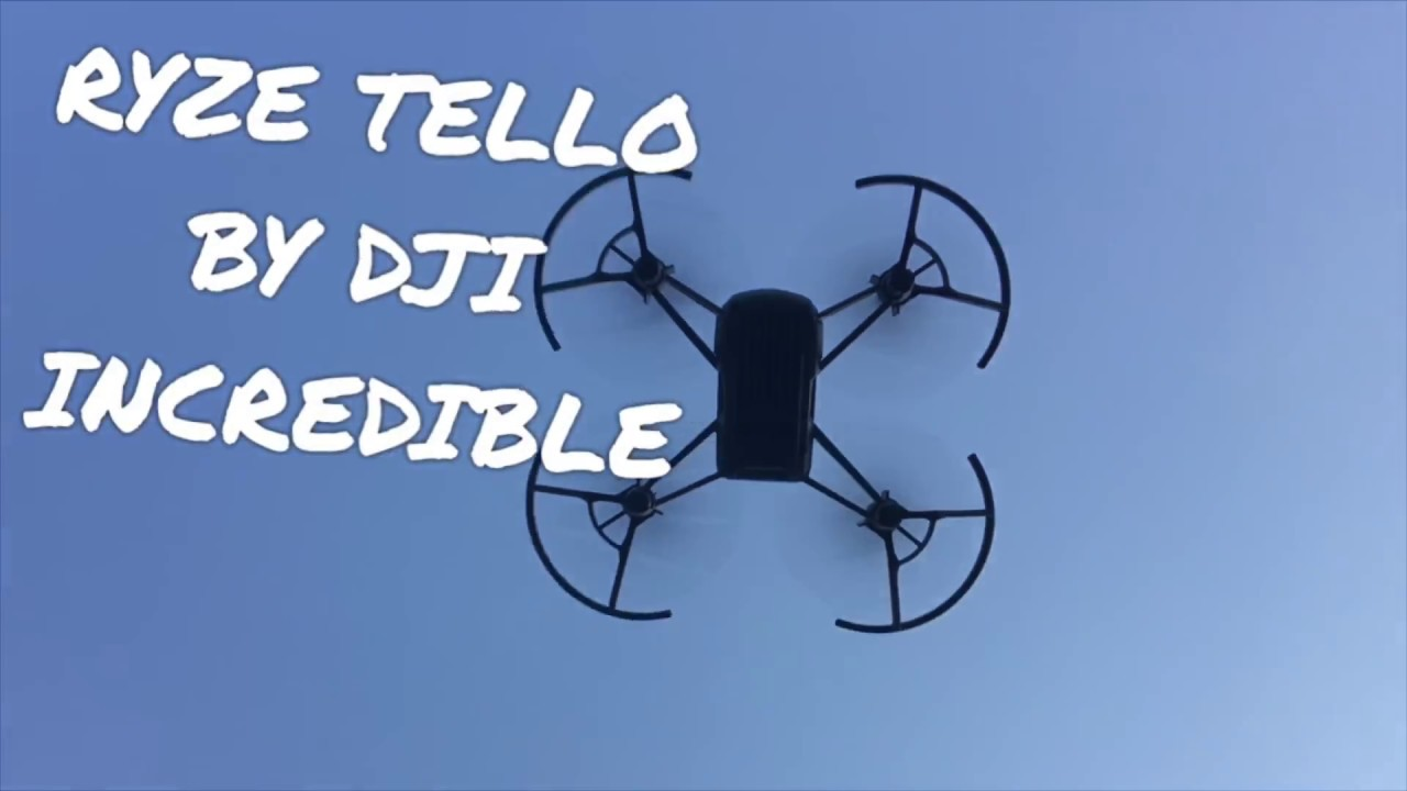 RYZE TELLO DRONE By DJI A Magic Little Box Of Tricks So Much More Review Slidr Bargain