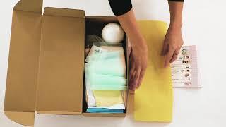 Распаковка набора для шитья интерьерной куклы от ТМ