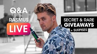 Hairstyling, Giveaway, Updates and Q&A with Rasmus?