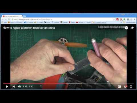 More Precisely Repair A Broken Receiver Antenna