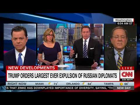 NYT's David Sanger: Trump's Expulsion Of Russian Diplomats One Of Strongest In History