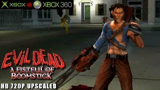 Evil Dead: A Fistful of Boomstick - Gameplay Xbox HD 720P (Xbox to Xbox 360)