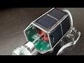 Солнечный электромотор Solar electric motor