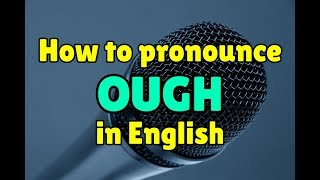 Download lagu How to pronounce OUGH in English MP3