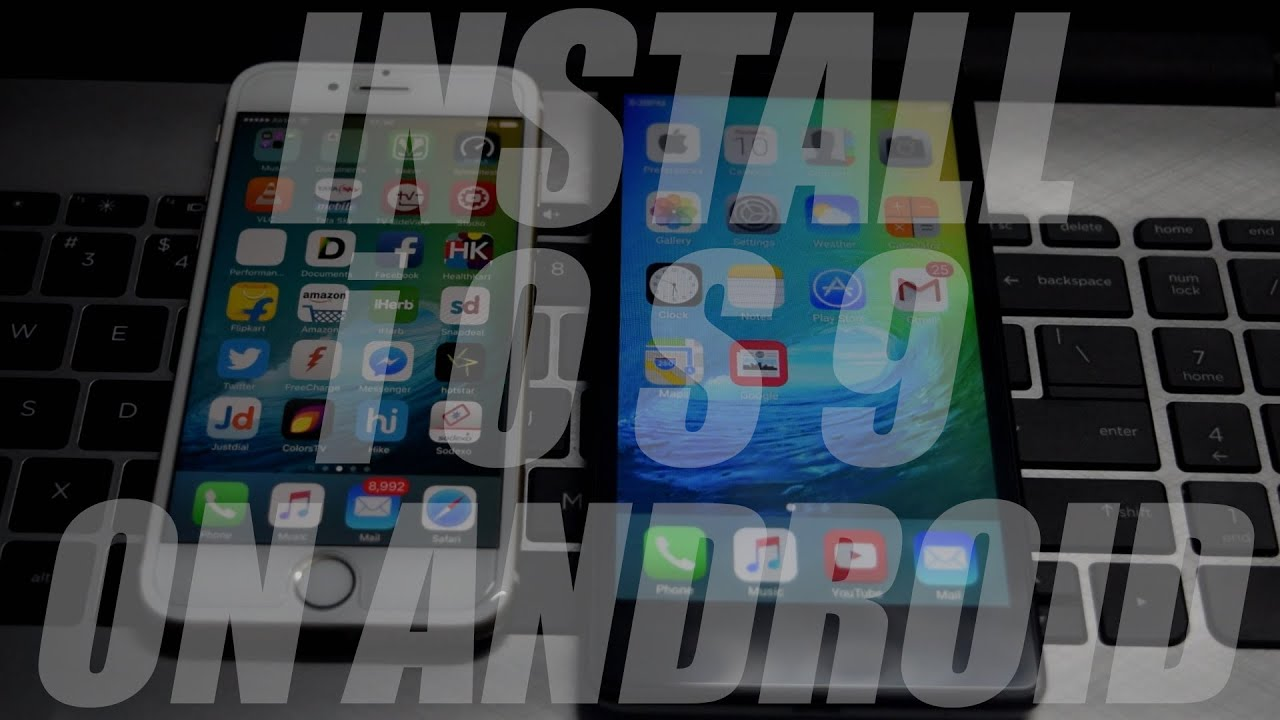 how to put ios on android tablet