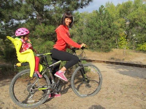 Как выбрать детское велокресло. Детское велокресло Bellelli. Обзор детского велокресла.