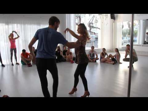 Jakub Jakoubek & Lucia Kubasova demo 1 at 2nd Cyprus International Zouk'n'Holidays Congress