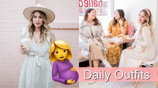 What I Wore This Week | 28 Weeks Pregnant | Toronto Vlog