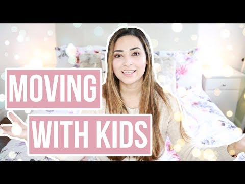 TOP TIPS FOR MOVING HOUSE WITH CHILDREN HOW TO MAKE IT EASIER? | MOVING WITH KIDS | Ysis Lorenna