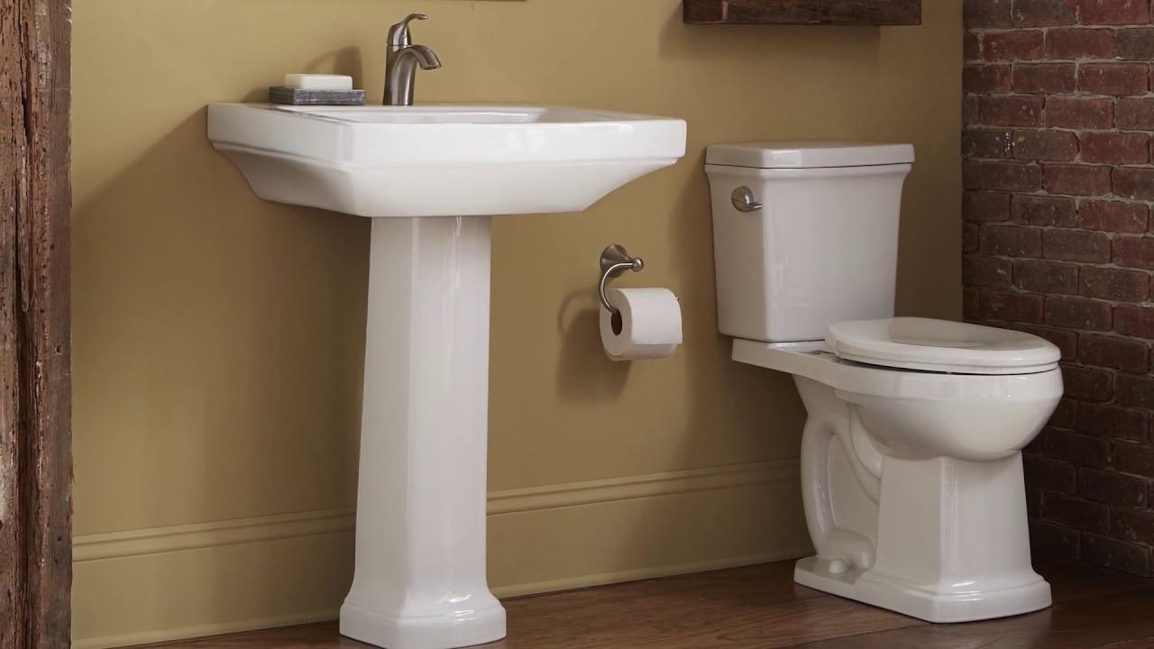 Gerber Plumbing Fixtures Introduces The All New Hinsdale Bathroom - Gerber bathroom fixtures