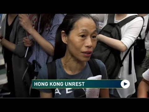 RT America: Amid Unrest Hong Kong Residents Hoping For Peace to Return
