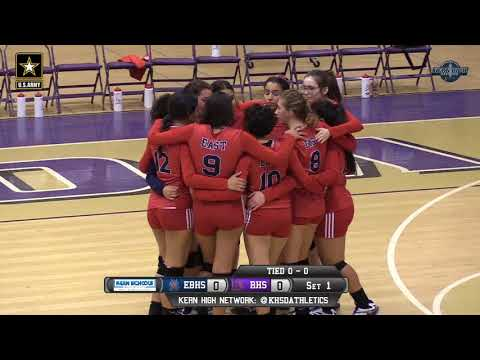 Volleyball East Bakersfield at Ridgeview