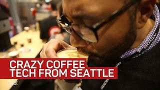 Look at this crazy coffee tech from Seattle