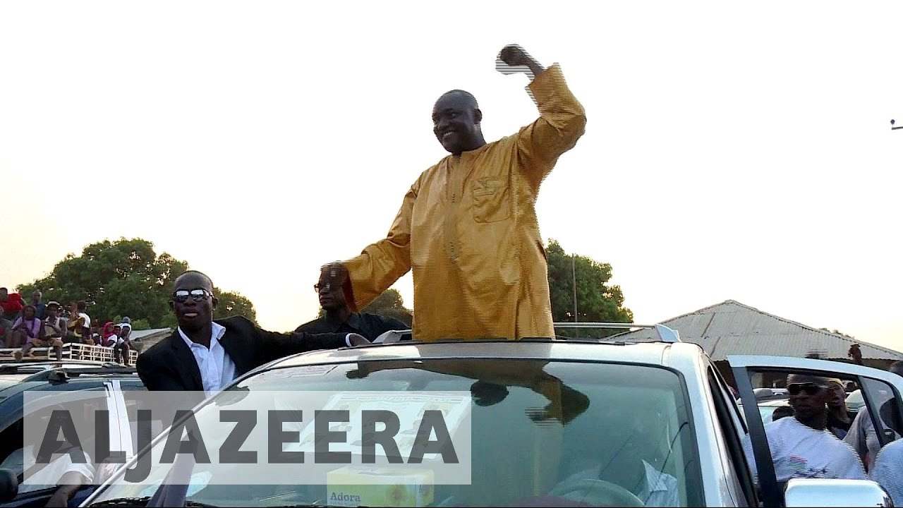 Gambia's president-elect urges people in exile to return
