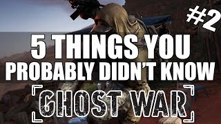 Ghost Recon Wildlands PVP - 5 Things You Probably Didn't Know #2