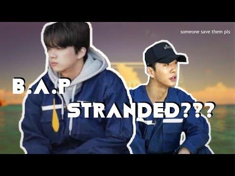 B.A.P STRANDED ON AN ISLAND??