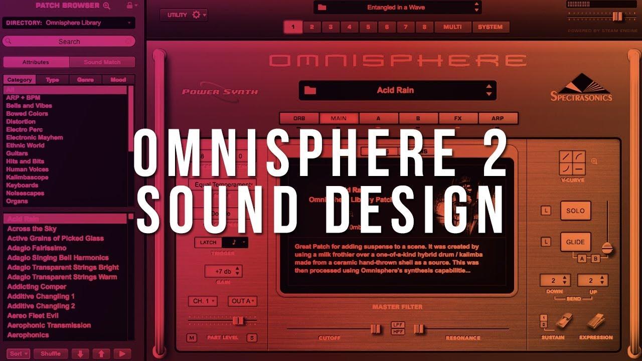 Omnisphere 2 Sound Design Tutorial (Beginner) | HOW TO MAKE PLUCKS IN  OMNISPHERE
