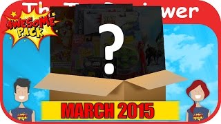 March 2016 Awesome Pack Subscription Box Unboxing Review by TheToyReviewer