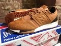 New Balance 247 Luxe Unboxing.  My first fashion trainers...