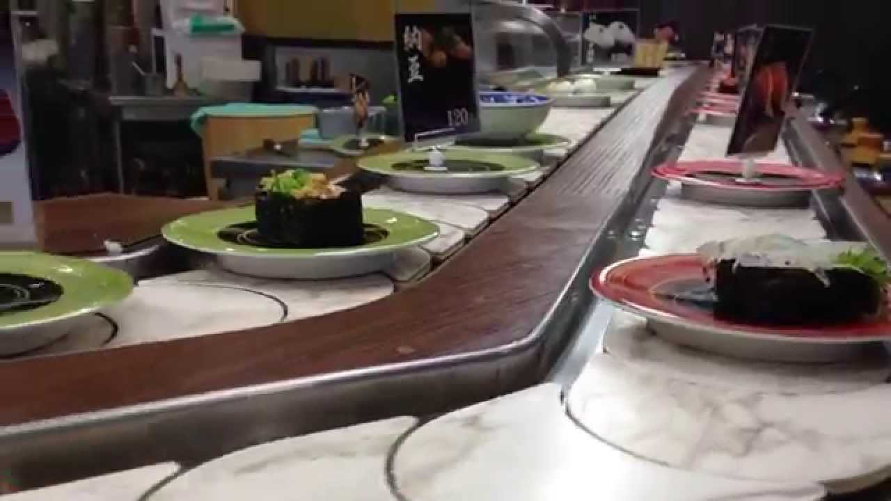 Sushi Train Restaurant In An
