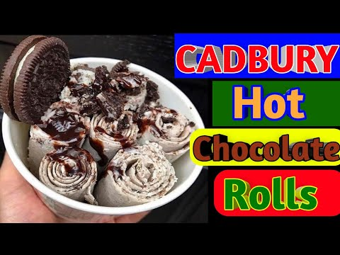 Chocolate Ice Cream Rolls | How to make ice cream | Ice Cream Rolls