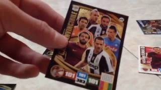 Apertura 2 bustine Premium Adrenalyn Serie A 2016 17 - Match Challange e CARD INVINCIBILE!