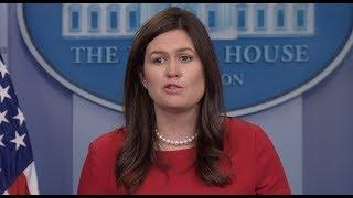 🔴WATCH: Press Secretary Sarah Sanders White House  Press Briefing LIVE Stream 12/12/17