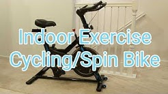 ANCHEER Indoor Smooth Belt Driven Cycling Bike