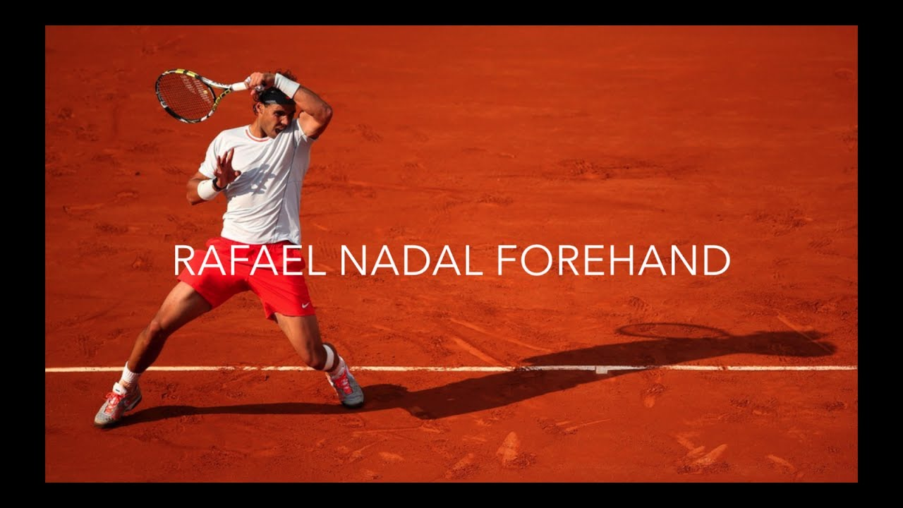 Rafael Nadal Forehand Analysed In Slow Motion 2017 Youtube